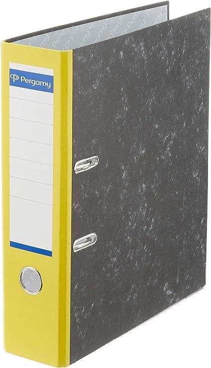 Pergamy PA0180NNRAM075 - Pack de 20 archivadores, A4, color ...