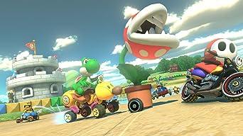 Nintendo Wii U Mario Kart 8 Deluxe Set bundle ...
