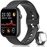 BANLVS Smartwatch, Reloj Inteligente Mujer Hombre con Correa Repuesta, Smartwatch Impermeable IP67 con Monitor de Sueño…