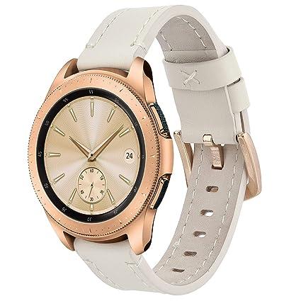 Amazon.com: Koreda - Correa de piel para reloj deportivo de ...