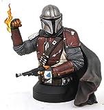 Gentle Giant Star Wars The Mandalorian MK1 1:6 Scale Mini-Bust, Multicolor