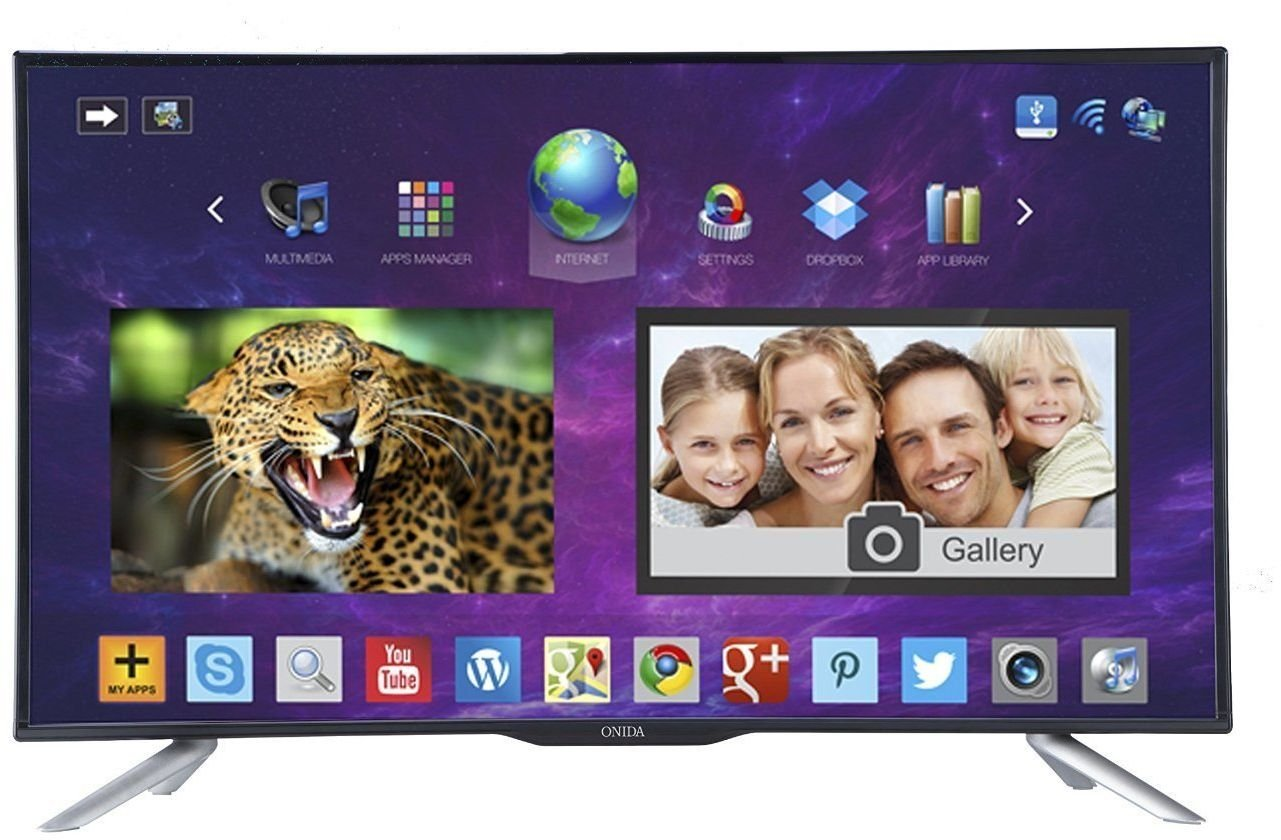 Onida 813 Cm Live Genius 32hib Hd Ready Led Smart Tv Hot Deals Samsung 32fh4003 Hitam 32 Inch Electronics