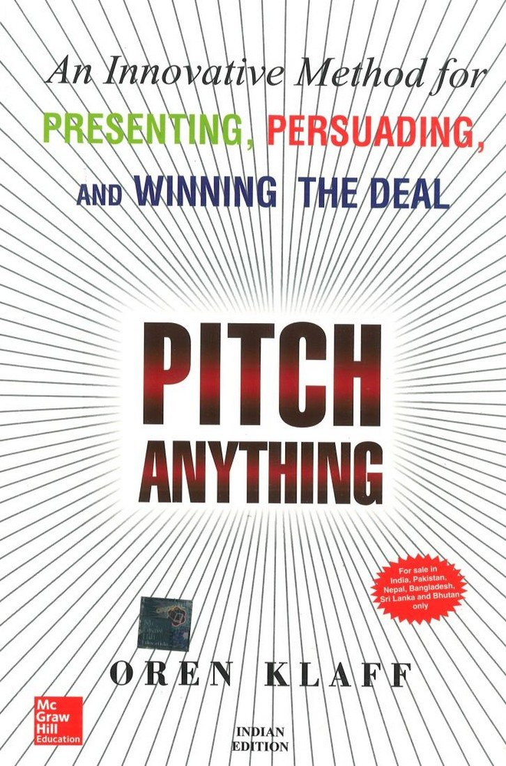 Read Online Pitch Anything PDF