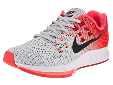 huge selection of 9eebe 4ac53 Nike Women s Air Zoom Structure 19 Training Shoes, (Pure Platinum Bright  Crimson