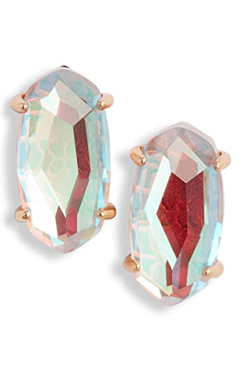 ebb8644c140f5 Amazon.com: Kendra Scott Signature Betty Blush Dichroic Glass/Rose ...