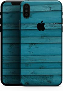 Signature Blue Wood Planks - Design Skinz Premium Skin Decal Wrap for The iPhone 5s or SE