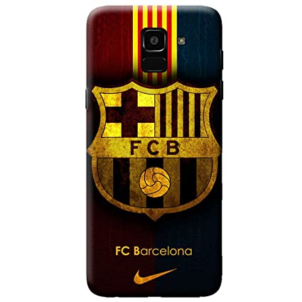 58eb4270861 Tip 'n' Top Mobile Back Cover for Samsung Galaxy J6 | FC Barcelona Print