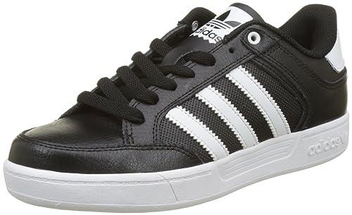 Adidas Varial Low, Zapatillas para Hombre, Negro (Core Black/Footwear White/Footwear White), 43 1/3 EU