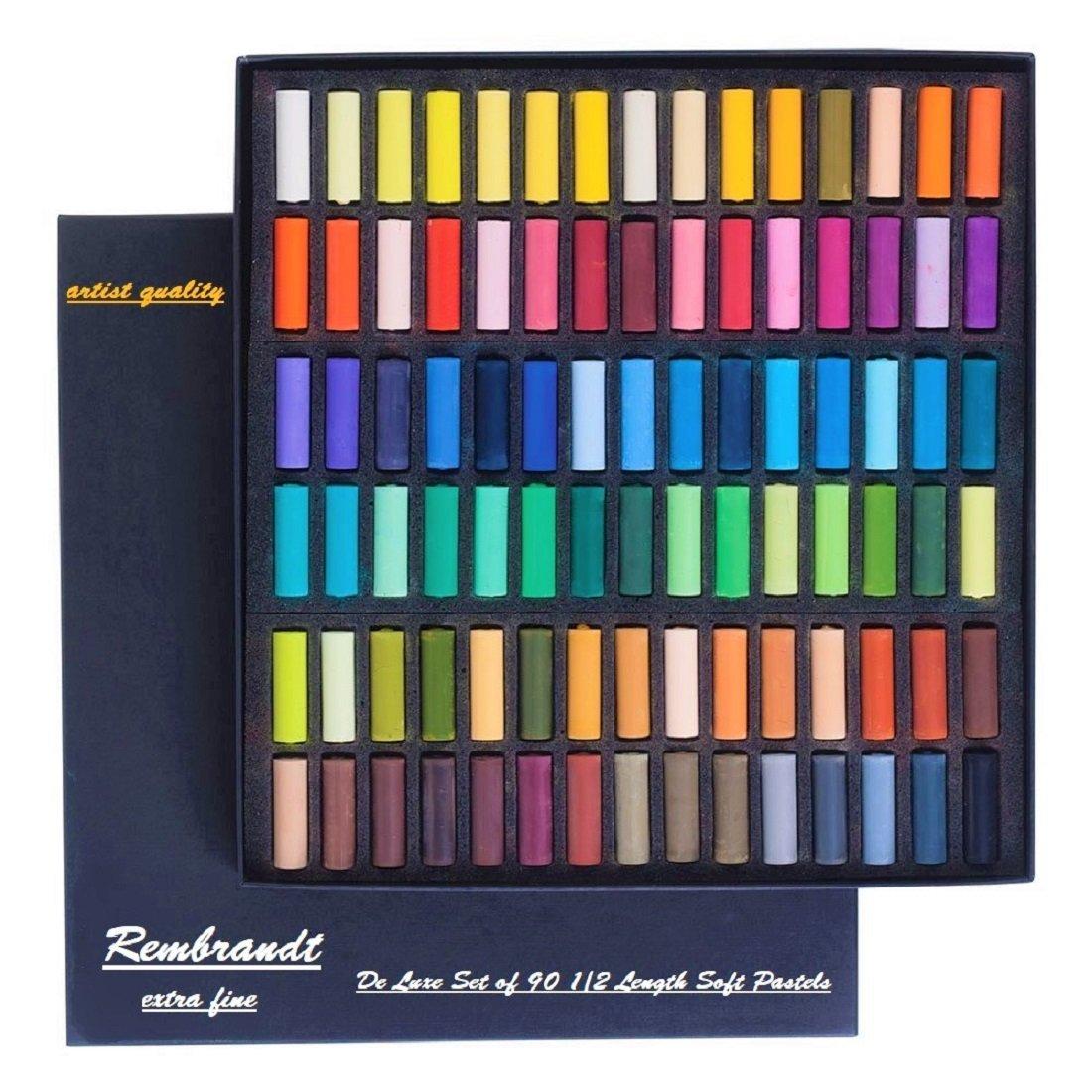 REMBRANT Espace Beaux Arts Rembrandt Soft Pastels 90 Half stick General de Luxe Set