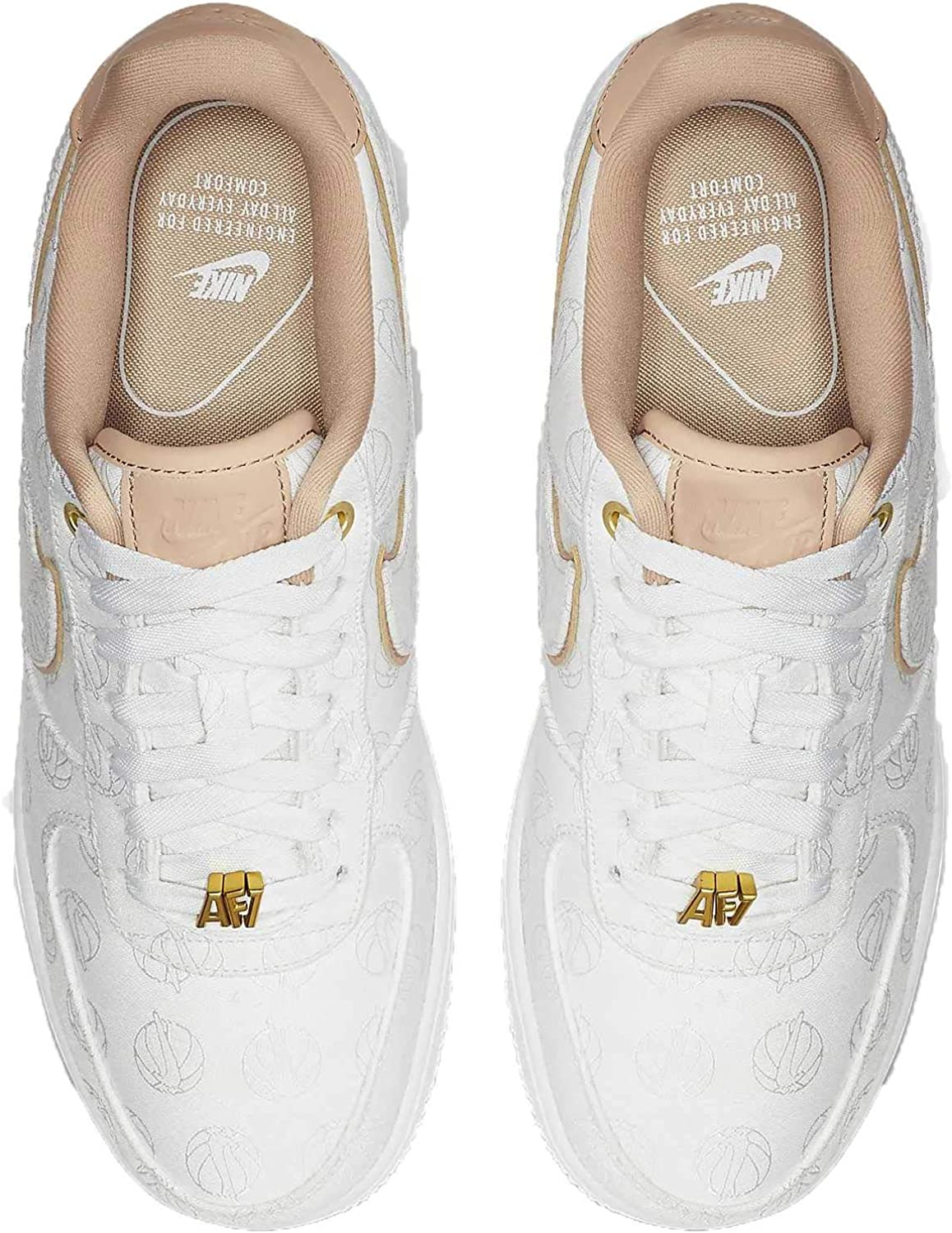 nike air force 1 donna bianche e beige