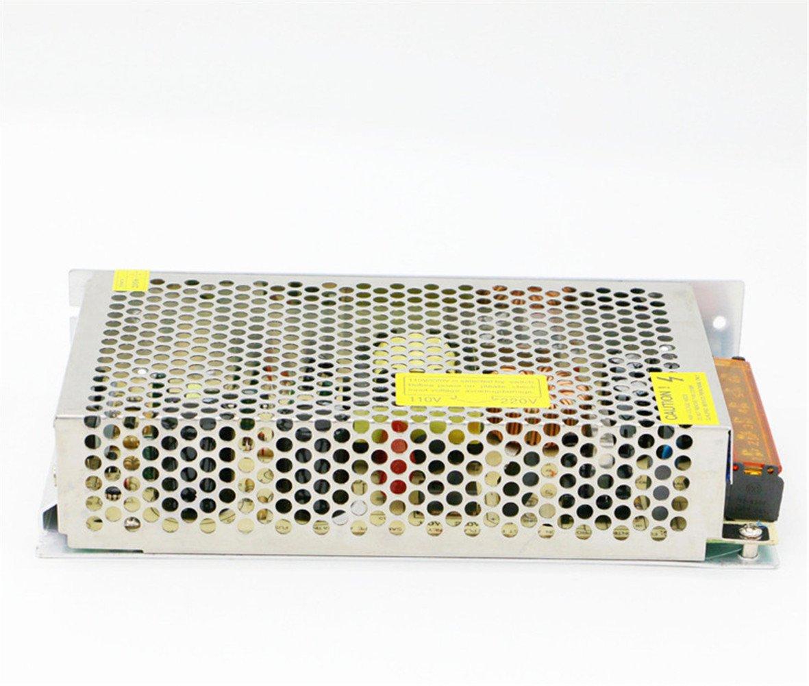 5V 30A 150W Power Supply Transformer Adapter AC 110V/220V to DC 5V 30amp Converter Or CCTV Camera/Security System/LED Strip Light/Radio/Computer Project by Baiyouli (Image #4)