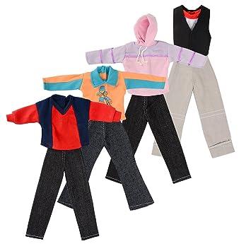 selezione speciale di amazon caldo-vendita ASIV 4 Set Moda Vestito Casual Abbigliamento Sportivo ...