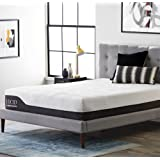 Amazon Price History for:LUCID 12 Inch Queen Hybrid Mattress - Bamboo Charcoal and Aloe Vera Infused Memory Foam - Motion Isolating Springs - CertiPUR-US Certified