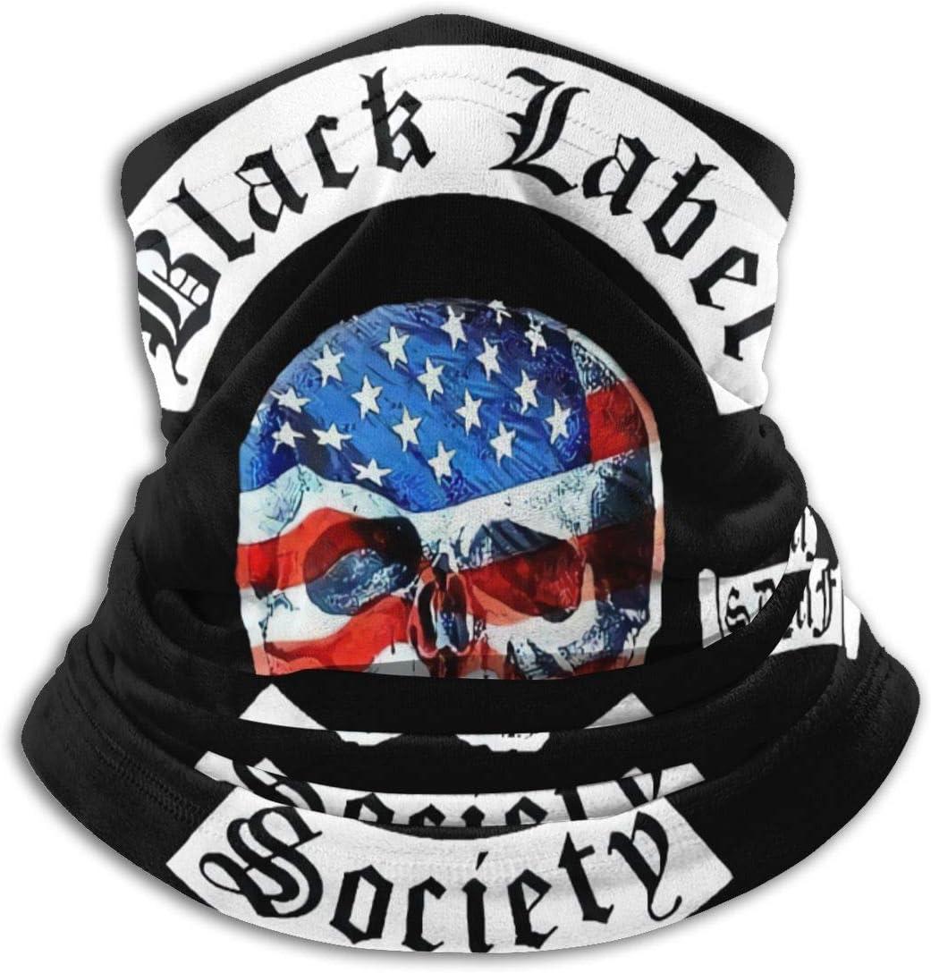 qulia Black Label Society Gesichtsschutz Schal Hals Hals Gamasche Multifunktionale Headwrap Running Sturmhaube