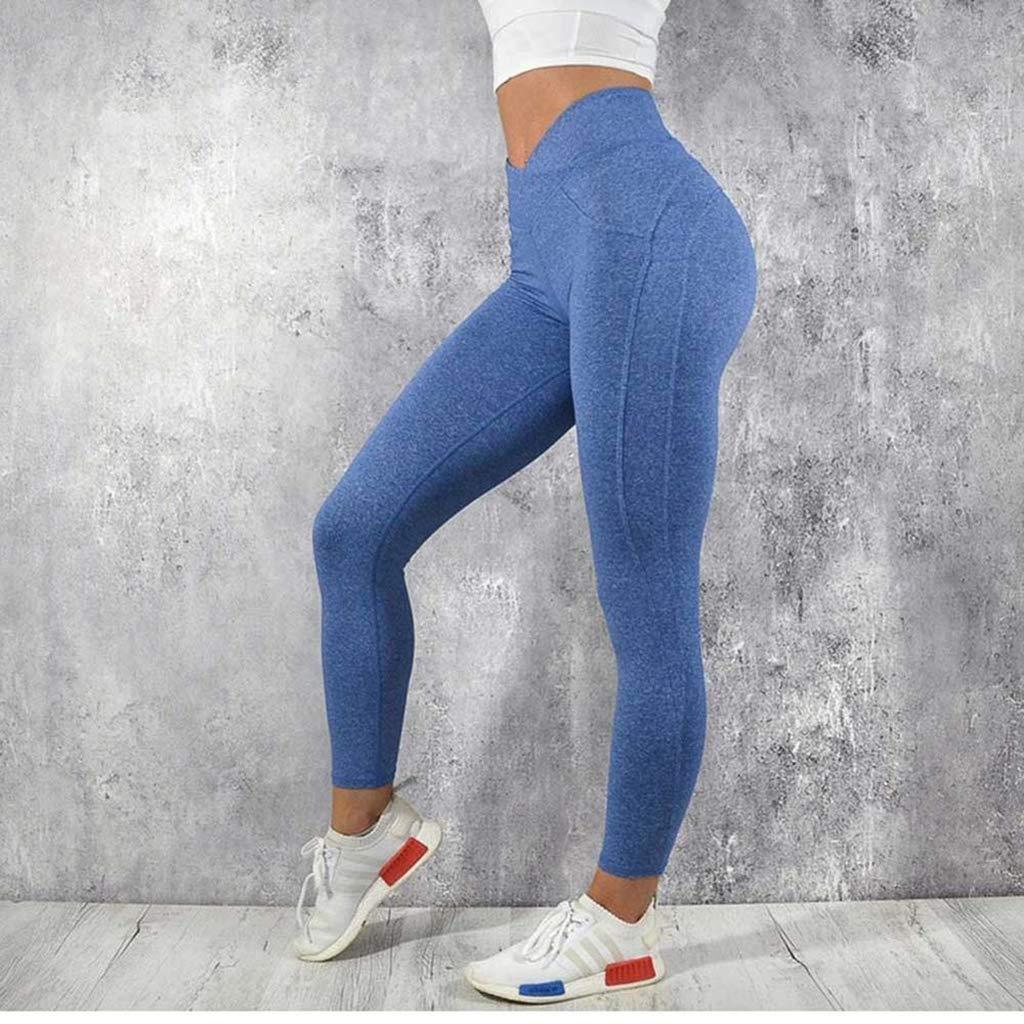 Amazon.com: Fafalisa - Pantalones de yoga para mujer, muy ...