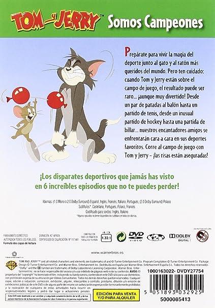 Tom Y Jerry Somos Campeones [DVD]: Amazon.es: 0, Varios, 0: Cine y ...