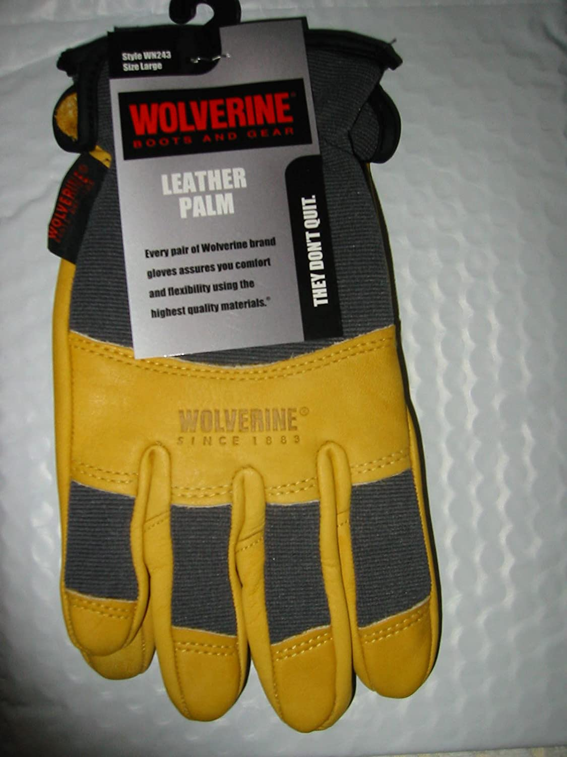 3pk wolverine leather work gloves extra large - Wolverine Men S Edge Lx Epx Work Boots Waterproof Taupe Yellow