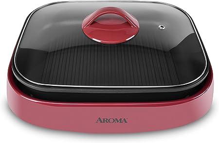 AROMA Grillet, Electric Skillet
