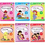 Jolly Kids Read With Happy Phonics Stories - Vowel Sound Words Large Print