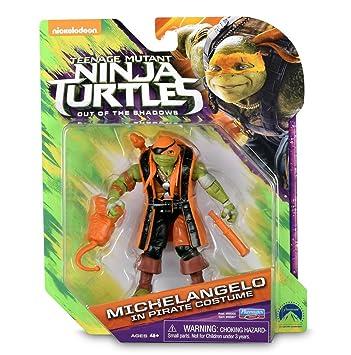 TORTUGAS NINJA - Figura - Michelangelo: Amazon.es: Juguetes ...