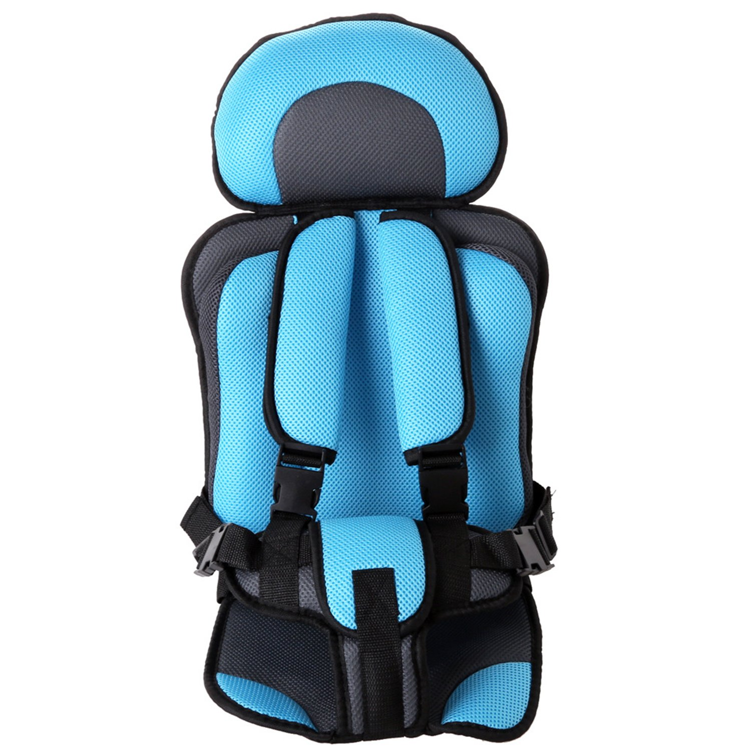 Adjustable Baby Car Seat Toddler Booster Seat/Portable Safety Child Car Cushion Seat/Multi Function Chair For Children 0-6 Years (Red) WIFORNT