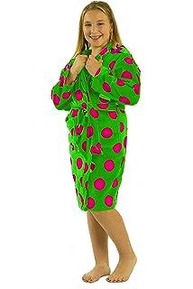 4e297979411e3 Amazon.com: byLora Kids Terry Bathrobe Robe, Cotton Hooded Robes for ...