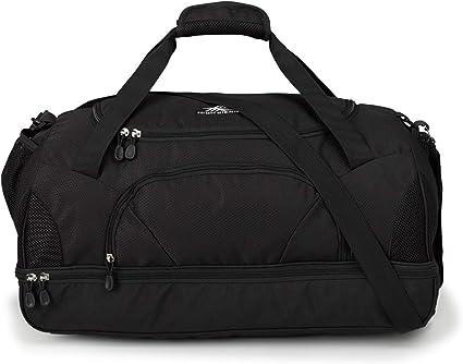 NEW High Sierra 2 in 1 Backpack Duffle Bag BLACK Outdoor Gym Sport Travel Bags