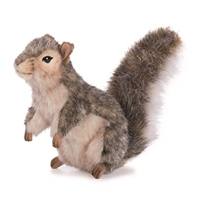 HANSA Squirrel Grey Standing 22cmh: Toys & Games