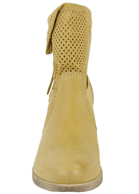 Shoot shoes donna estivo breve gambo Stiefelette SH-15040 Trend stivaletti  in pelle, Beige (Spago (hellbraun)), 37: Amazon.it: Scarpe e borse