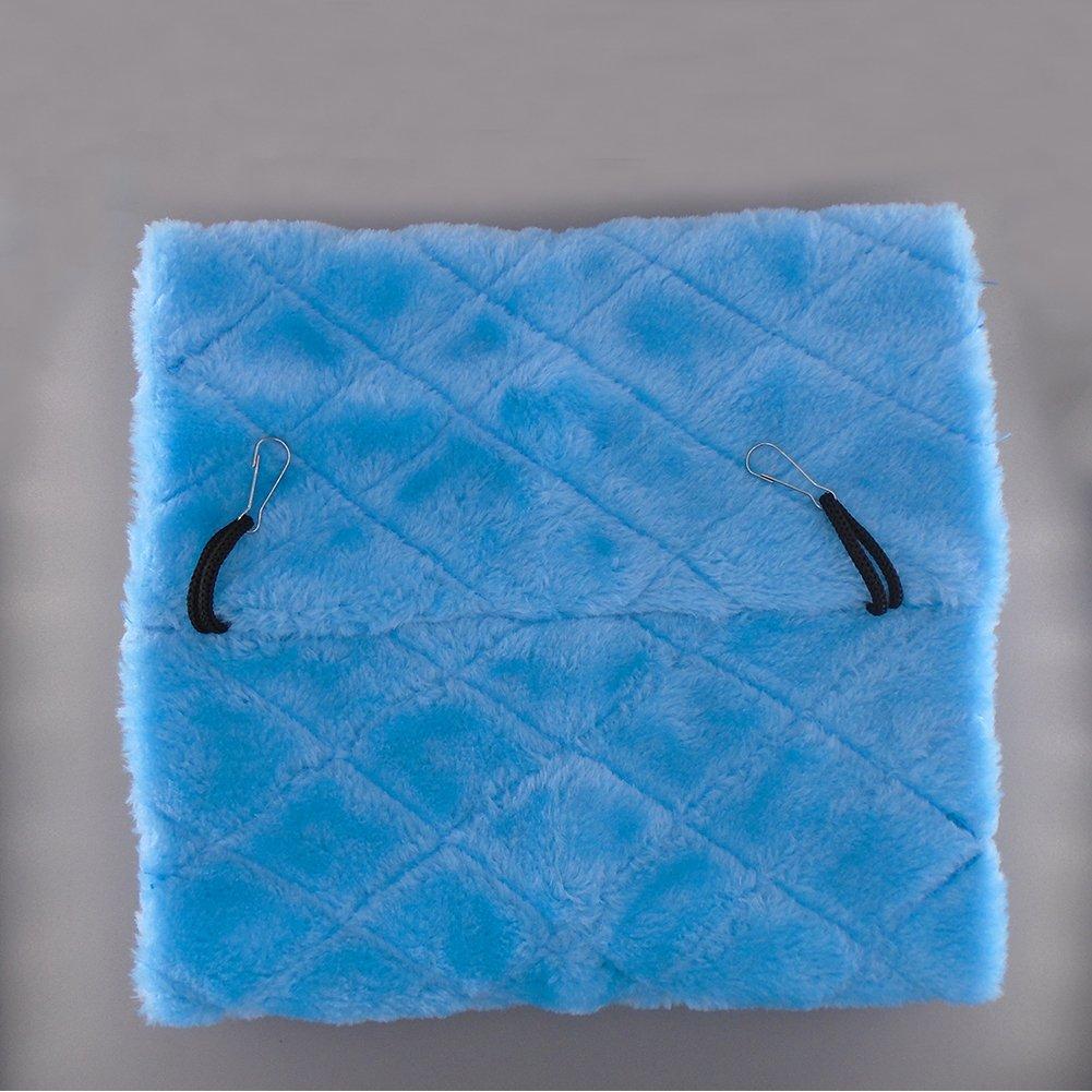 Bello Luna Loro azul nido de pájaro mascota nido de invierno cálido hamaca colgante cueva jaula de felpa Happy Hut tienda de cama (S): Amazon.es: Productos ...
