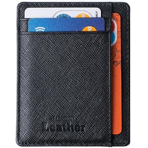 45 opinioni per Portafoglio Anti-RFID – Portafoglio Ottimo Sottile & Sicuro Minimalista di
