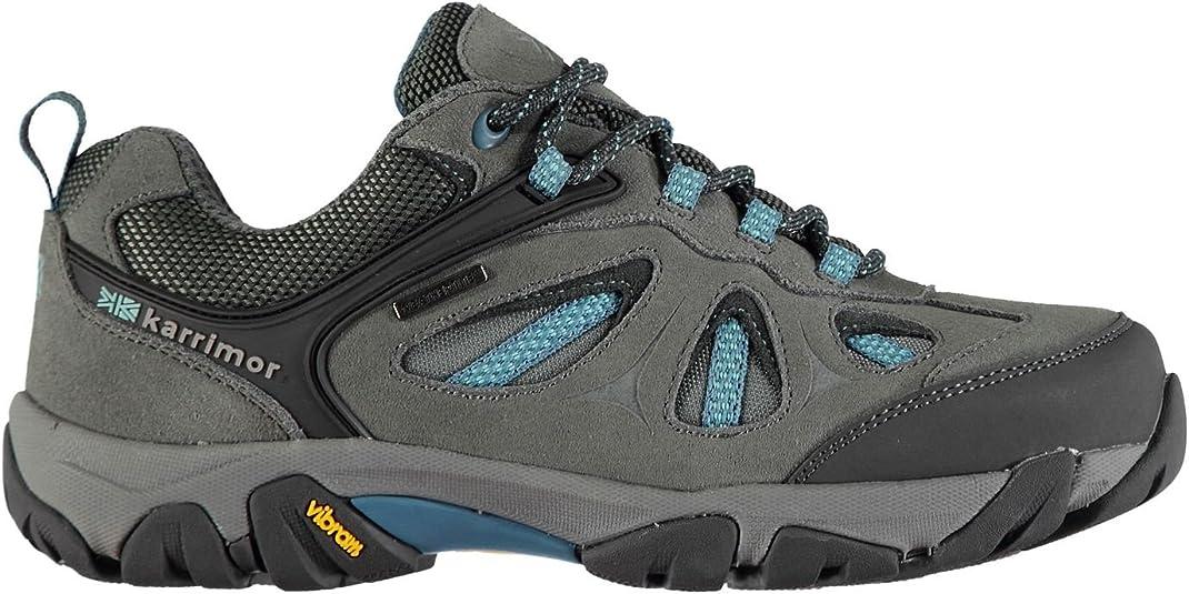 Karrimor Mujer Aspen Low Zapatillas de Senderismo Trekking Carbón/Azul 41: Amazon.es: Zapatos y complementos