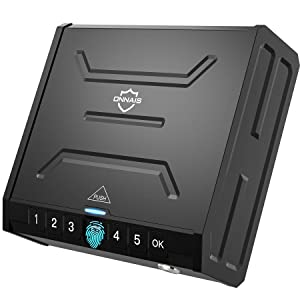 ONNAIS Biometric Gun Safe for Pistols