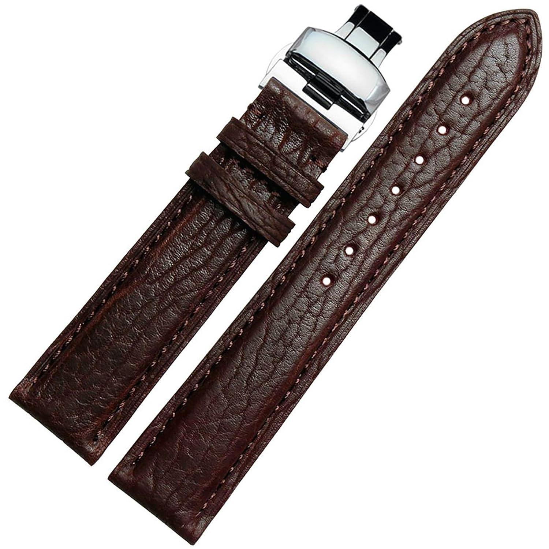 [エイト]腕時計ベルト 21mm ブラウン レザー ELB148 [並行輸入品]  B01N0RIHEJ