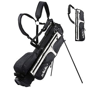Amazon.com: Longchao - Bolsa para palos de golf con soporte ...