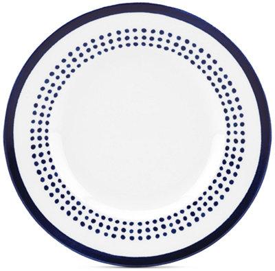 kate spade new york Charlotte Street East Accent Plate - Dinnerware - Dining & Entertaining - Macy's