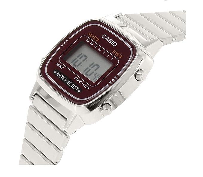 Casio Reloj metálico LA670W4D