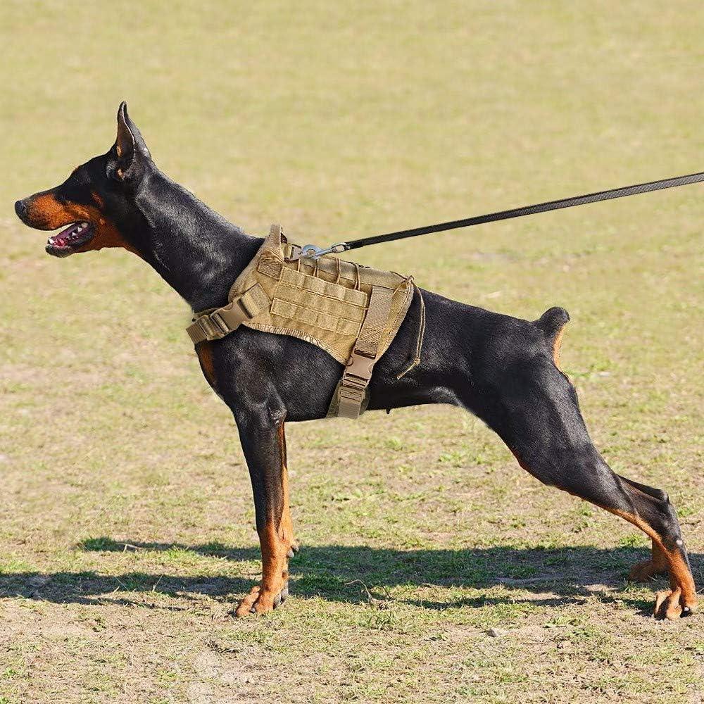 LLLYZZ Arnés para Perros Táctico Militar Chaleco para Perros De ...