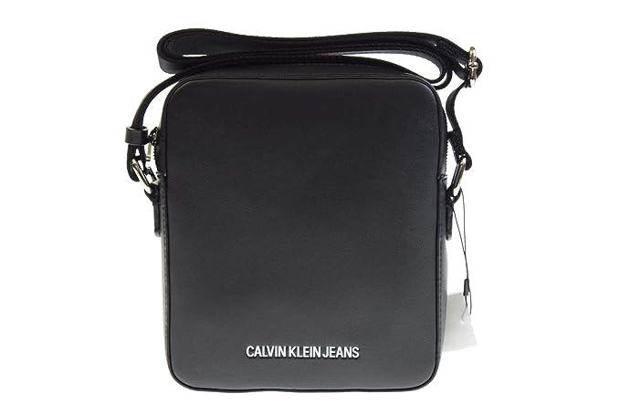 comprar baratas c3d2b e6fa1 Calvin Klein bolso bandolera hombre K50K504528 001 SMOOTH ...