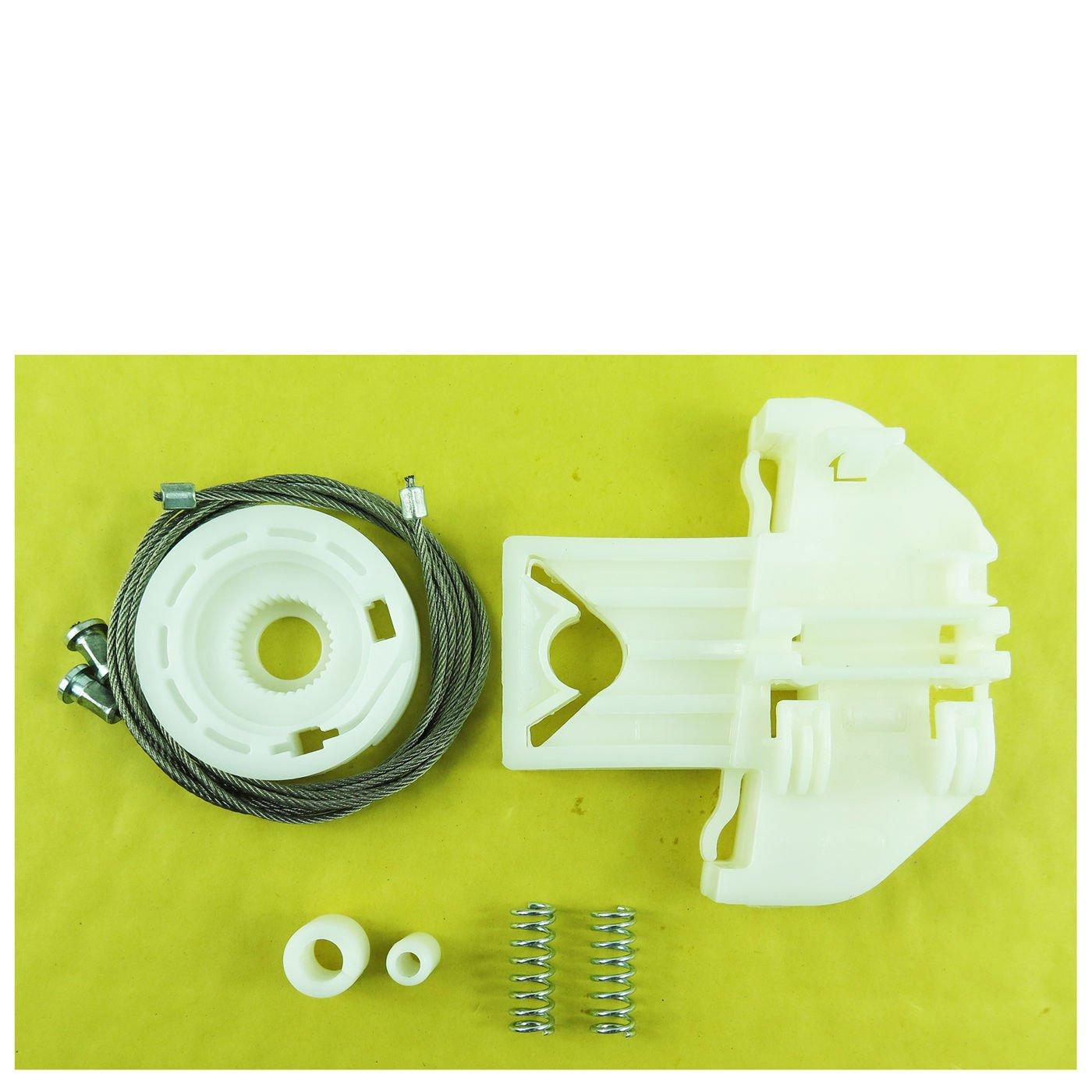 per Ford compatibilit/à non garantita con veicoli con guida a sinistra Kit di riparazione per alzacristalli elettrico posteriore sinistro