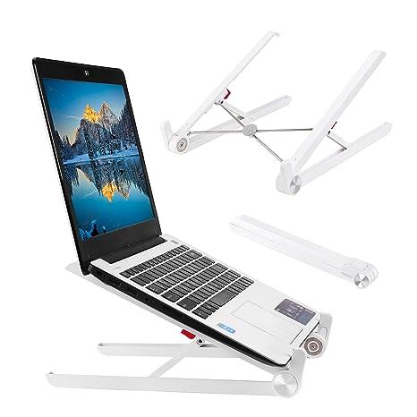 Cuitan Soporte para Ordenador portátil, Plegable Soporte para 11 – 15.6 Pulgadas para portátil,