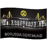 Borussia Dortmund BVB 09 BVB-Zimmerfahne mit Signal Iduna Pa
