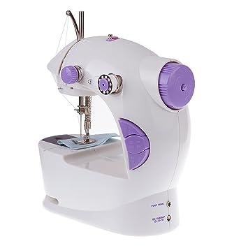 Vinteky Mini Máquina de Coser Ocasión Escritorio Oferta de Punto de Costura, Adecuado y droitesde inalámbrico Doble Portátil, Fácil de Utilizar: Amazon.es: ...