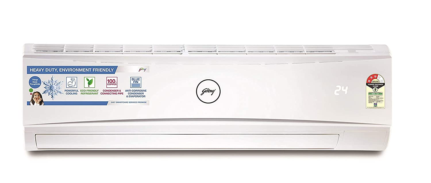 Godrej 1.5 Ton 3 Star Split AC Copper