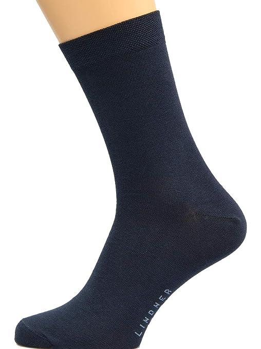 4d67a91cbe18 Max Lindner 5 Paar Hochwertige Socken aus Baumwolle für Damen   Herren  Strümpfe Markenqualität seit 1921  Amazon.de  Bekleidung