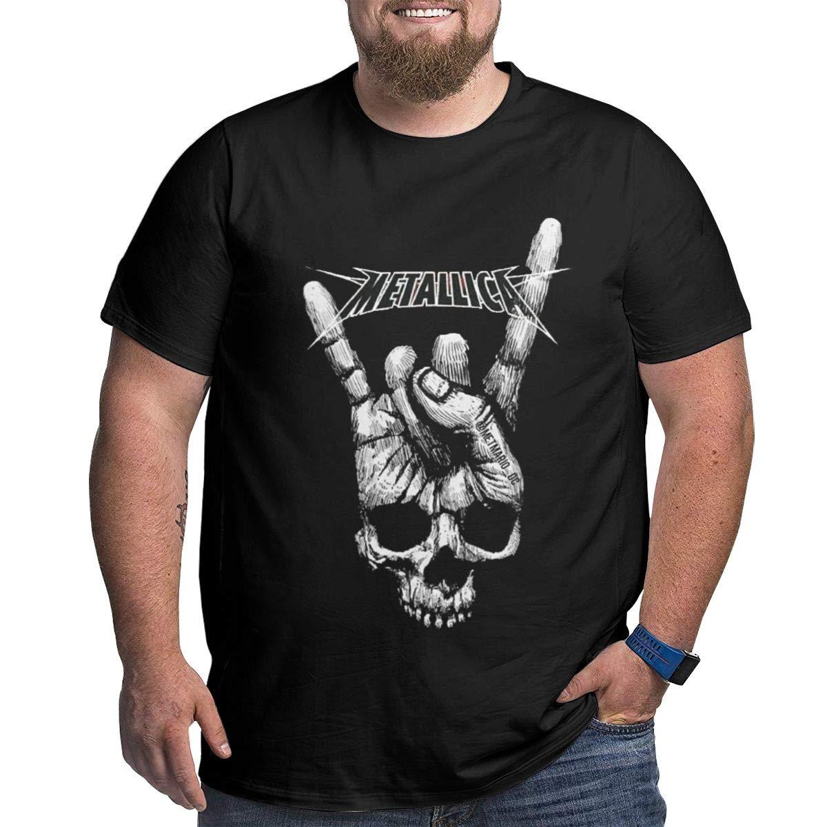 Metallica Plus Big Crewneck Top Comfortsoft Short Sleeve 5292 Shirts