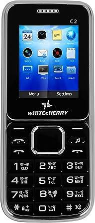 WHITECHERRY C2 Heavy Battery Dual Sim Mobile Feature Phone  Black