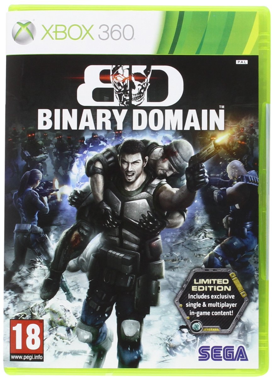 Amazon.com: Binary Domain Limited Edition Game (Xbox 360 ...