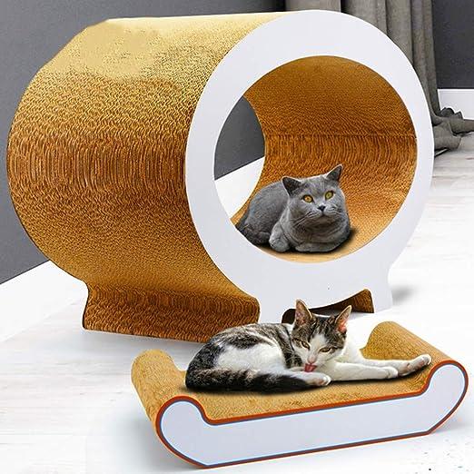 XinC Bloc de Notas para Cajas de cartón rascadores para Gatos con ...