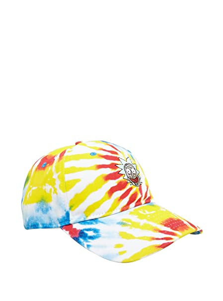 Rick and Morty Rick Tie Dye Hat at Amazon Men s Clothing store  9fb91d523ee6